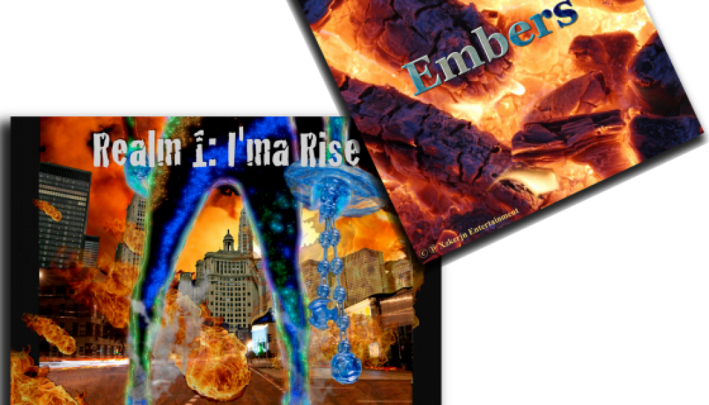 Embers:Ima Rise Album covers